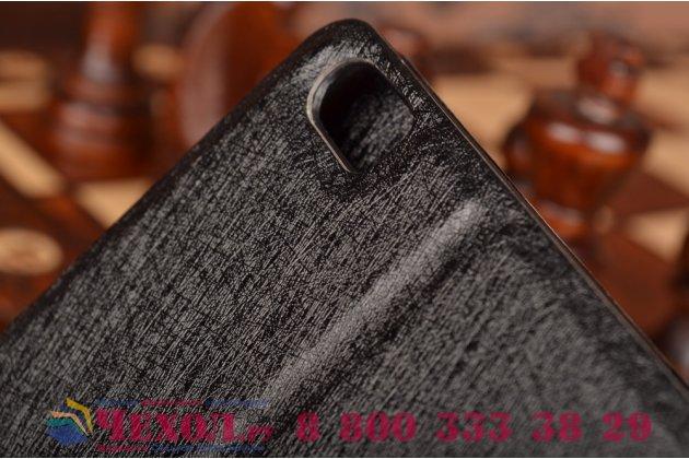 Чехол-книжка для xiaomi mi note/ mi note pro черный с окошком для входящих вызовов c свайпом