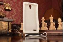 """Необычная уникальная полимерная мягкая задняя панель-чехол-накладка для xiaomi redmi note """"тематика андроид в белом шоколаде"""""""