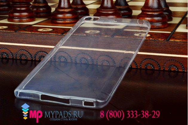 Ультра-тонкая полимерная задняя панель-крышка-накладка для xiaomi mi note/mi note pro белая