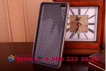Ультра-тонкая полимерная сделанная под кожу задняя панель-чехол-накладка для xiaomi mi note/mi note pro черная