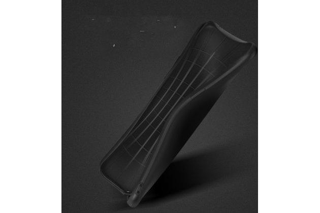Ультра-тонкая полимерная из мягкого качественного силикона задняя панель-чехол-накладка для xiaomi mi 4i черный