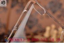 Задняя панель-крышка-накладка из тончайшего и прочного пластика для xiaomi mi 4i  прозрачная