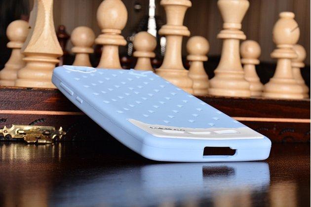 """Необычная уникальная полимерная мягкая задняя панель-чехол-накладка для xiaomi mi 4i""""тематика андроид в черничном  шоколаде"""""""
