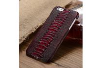 Элегантная экзотическая задняя панель-крышка с фактурной отделкой натуральной кожи крокодила для xiaomi mi5. только в нашем магазине. количество ограничено.