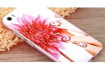 """Роскошная задняя панель-чехол-накладка из металла с объемным  3d изображением  на xiaomi mi5 с безумно красивым рисунком  """"тематика королевские цветы"""""""