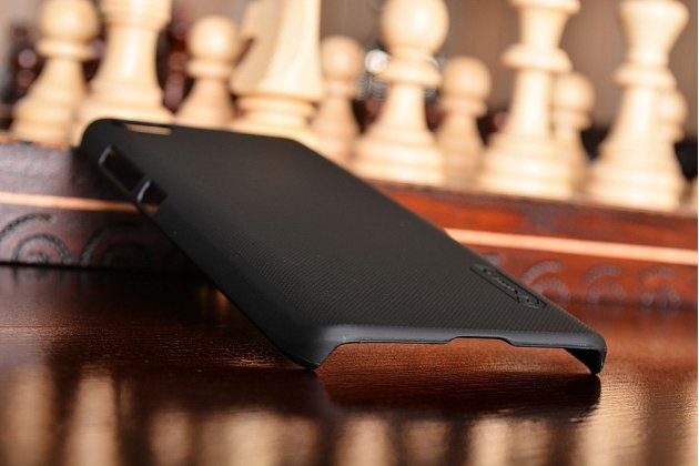 Задняя панель-крышка-накладка из тончайшего и прочного пластика для xiaomi mi5 черная