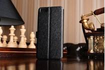 Чехол-книжка  с окошком для входящих вызовов и свайпом  для xiaomi mi5 водоотталкивающий черный