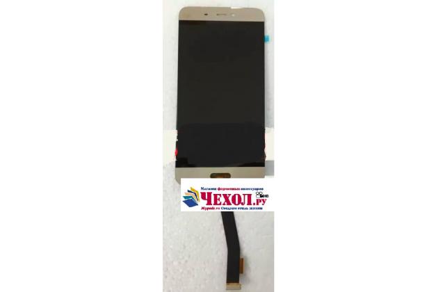Lcd-жк-сенсорный дисплей-экран-стекло с тачскрином на телефон xiaomi mi5 золотой + гарантия