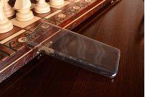 Ультра-тонкая полимерная из мягкого качественного силикона задняя панель-чехол-накладка для xiaomi mi5 серая