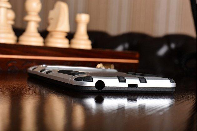 Противоударный усиленный ударопрочный чехол-бампер-пенал для xiaomi mi5 серебристый