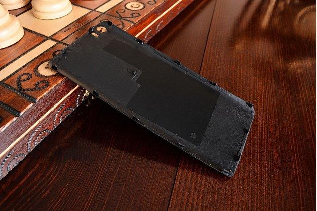 Родная задняя крышка-панель которая шла в комплекте для xiaomi mi5 черная