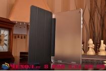 """Умный тонкий легкий чехол для xiaomi mipad 2/3 7.9 """" (ips intel x5-z8500) """"smart-wake"""" черный пластиковый"""