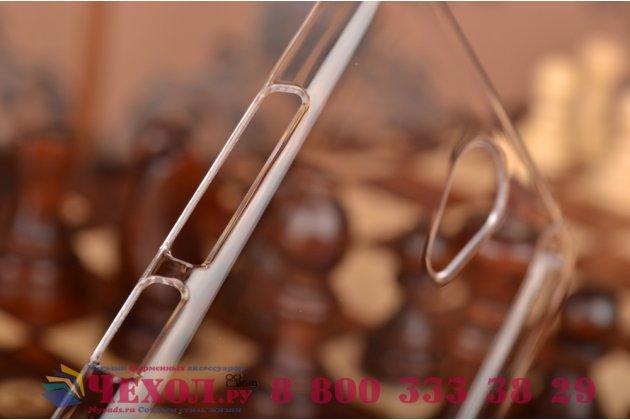 """Задняя панель-крышка-накладка из тончайшего и прочного пластика для xiaomi redmi note 2/ note 2 prime 5.5""""  прозрачная"""