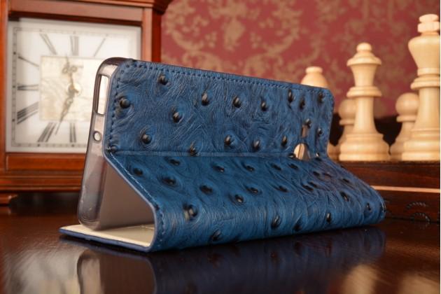 """Роскошный эксклюзивный чехол с объёмным 3d изображением рельефа кожи крокодила синий для xiaomi hongmi 2 2a/ redmi 2 / redmi 2 pro 4.7"""". только в нашем магазине. количество ограничено"""