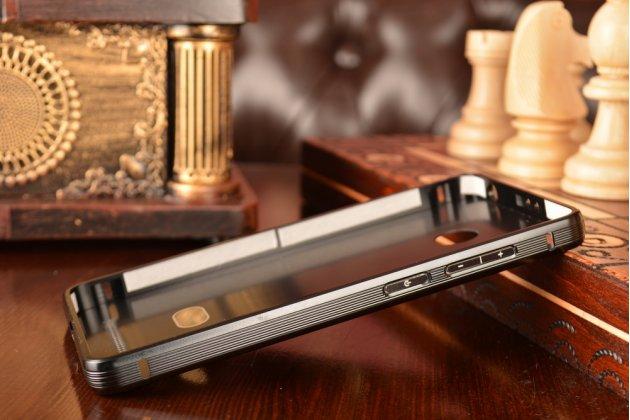 Металлическая задняя панель-крышка-накладка из тончайшего облегченного авиационного алюминия для xiaomi redmi 3 pro/ 3s 5.0  черная