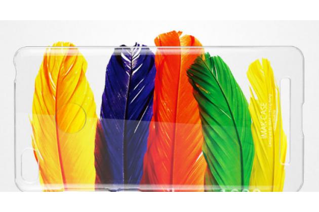 Задняя панель-крышка-накладка из тончайшего и прочного пластика для xiaomi redmi 3 pro/ 3s 5.0 прозрачная