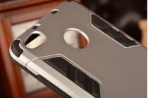 Противоударный усиленный ударопрочный чехол-бампер-пенал для xiaomi redmi 3/3x 5.0 белый