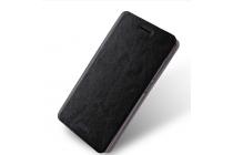 Чехол-книжка  металлической основе для xiaomi redmi 3/3x 5.0 черный