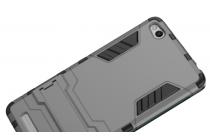 Противоударный усиленный ударопрочный чехол-бампер-пенал для xiaomi redmi 3/3x 5.0 черный