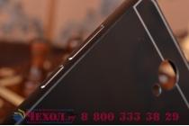 """Металлическая задняя панель-крышка-накладка из тончайшего облегченного авиационного алюминия для xiaomi redmi note 2/ note 2 prime 5.5"""" черная"""