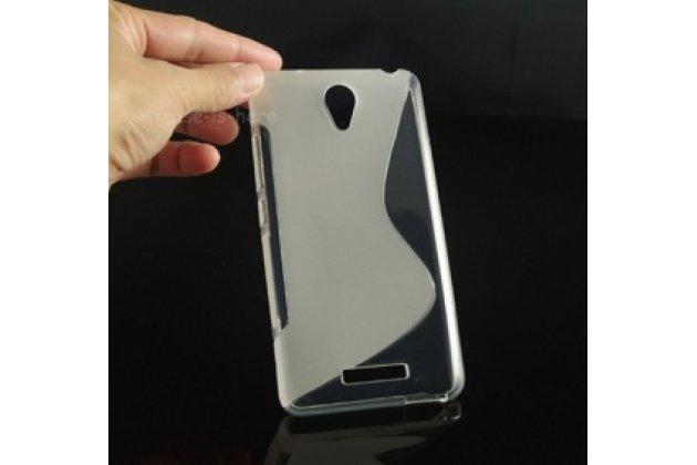 """Ультра-тонкая полимерная из мягкого качественного силикона задняя панель-чехол-накладка для xiaomi redmi note 2/ note 2 prime 5.5"""" белая"""