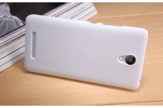"""Задняя панель-крышка-накладка из тончайшего и прочного пластика для xiaomi redmi note 2/ note 2 prime 5.5"""" белая"""