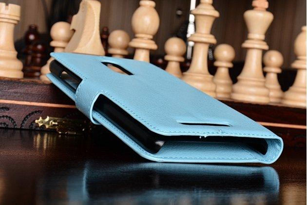 """Чехол-книжка из качественной импортной кожи с подставкой застёжкой и визитницей для  ксиаоми редми ноут 3/редми ноут 2 про 5.5 / xiaomi redmi note 3 /xiaomi redmi note 2 pro 5.5""""  бирюзовый"""