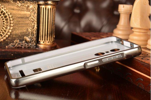 """Металлическая задняя панель-крышка-накладка из тончайшего облегченного авиационного алюминия для xiaomi redmi note 3 /xiaomi redmi note 2 pro 5.5""""  черная"""
