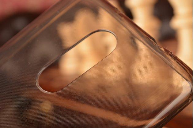 """Задняя полимерная панель-крышка-накладка из ультра-тонкого силикона для xiaomi redmi note 3 /xiaomi redmi note 2 pro 5.5"""" черная"""