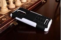 """Противоударный усиленный ударопрочный чехол-бампер-пенал для xiaomi redmi note 3 /xiaomi redmi note 2 pro 5.5""""  белый"""