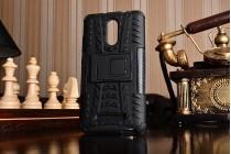 """Противоударный усиленный ударопрочный чехол-бампер-пенал для xiaomi redmi note 3 /xiaomi redmi note 2 pro 5.5""""  черный"""