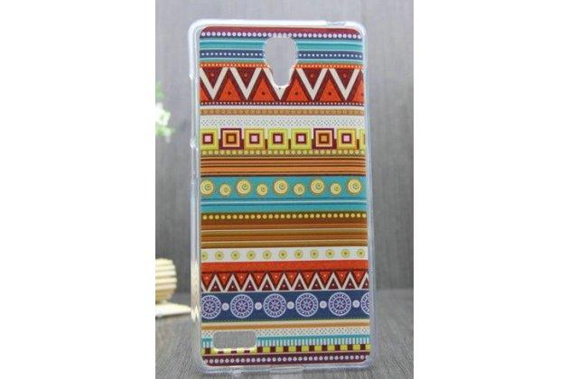 Роскошная задняя панель-чехол-накладка с безумно красивым расписным эклектичным узором на xiaomi redmi note
