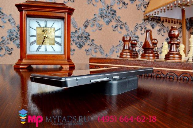 Металлическая задняя панель-крышка-накладка из тончайшего облегченного авиационного алюминия для xiaomi redmi note черная