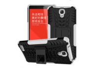 Противоударный усиленный ударопрочный чехол-бампер-пенал для xiaomi redmi note 1 /hongmi note белый