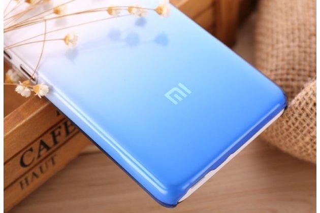 """Из тонкого и лёгкого пластика задняя панель-чехол-накладка для xiaomi hongmi 2 2a/ redmi 2 / redmi 2 pro 4.7"""" прозрачная с эффектом дождя"""