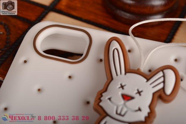 """Необычная уникальная полимерная мягкая задняя панель-чехол-накладка для xiaomi mi note/mi note pro """"тематика андроид в белом шоколаде"""""""