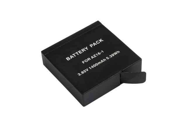 Az16-1 аккумуляторная батарея 1400mah для спортивной видео-экшн-камеры xiaomi yi 4k + гарантия