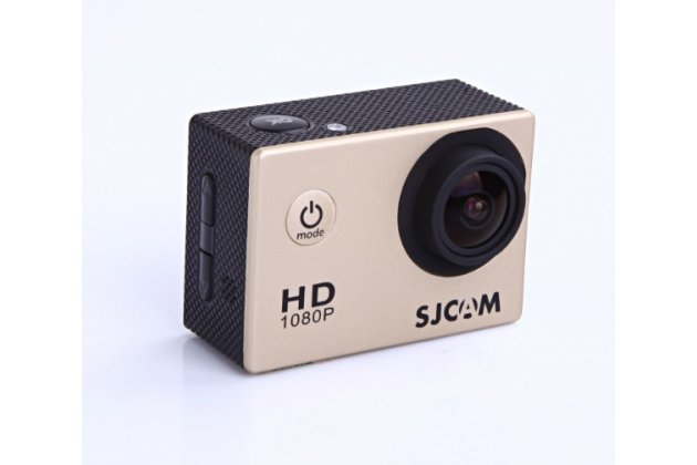 Портативная спортивная экшн-камера sjcam sj4000 беспроводная черного цвета