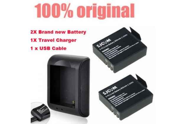 Usb-зарядное устройство на 900mah для аккумуляторов/батареек спортивной экшн-камеры sj4000 sj5000 plus sj6000