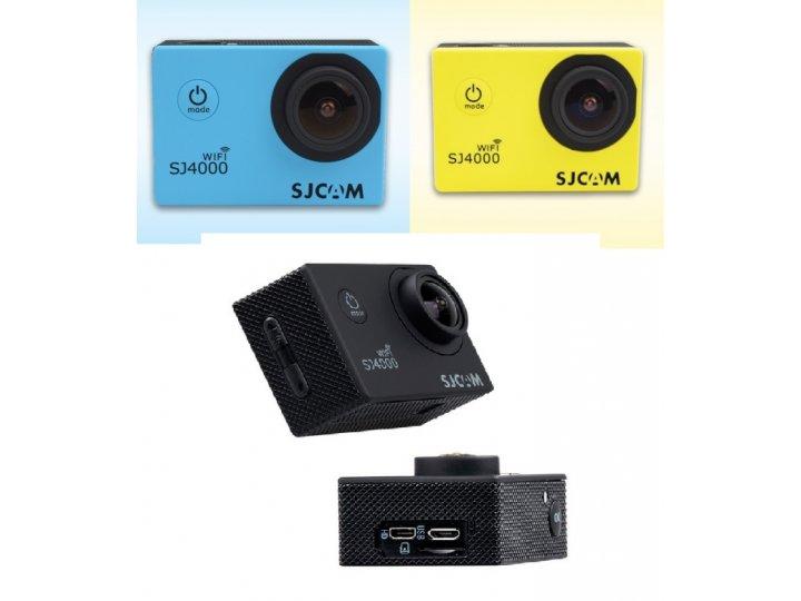 Портативная спортивная wi-fi экшн-камера sjcam sj4000  беспроводная..
