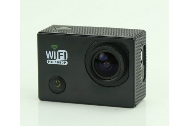 Портативная спортивная wi-fi экшн-камера sjcam sj6000  беспроводная черного цвета