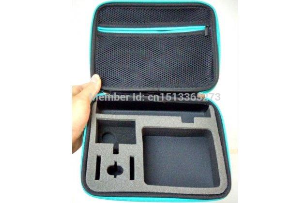 Сумка для хранения/переноски спортивной видео-экшн-камеры xiaomi yi и всех аксессуаров к ней (монопод,крепления,итд)