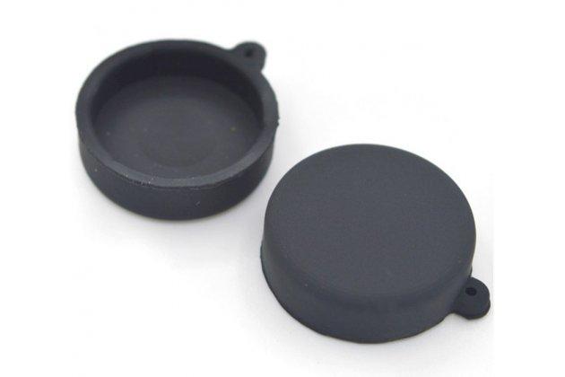 Защитная крышка-заглушка для объектива-линзы фото-видео-экшн-камеры xiaomi yi черная