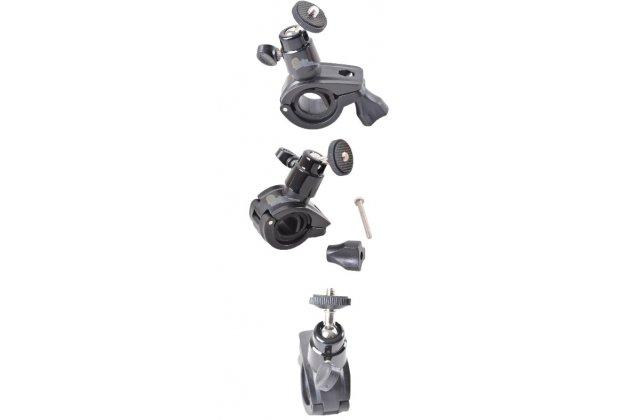 Держатель-крепление на велосипед/мотоцикл для спортивной фото-видео-экшн-камеры xiaomi yi металлическое