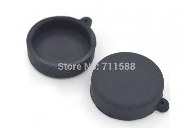 Мягкий силиконовый чехол для спортивной экшн-камеры xiaomi yi + крышка-заглушка для объектива черный