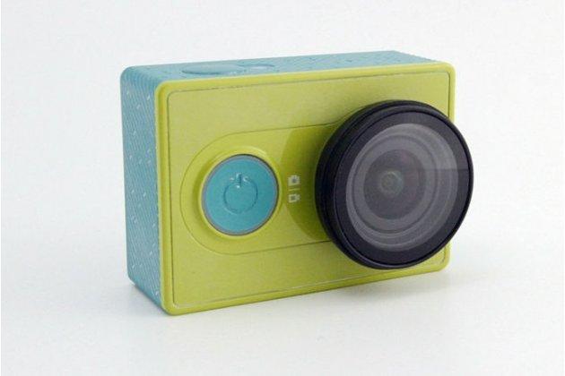 Uv(ультрафиолетовый) фильтр с мягкой силиконовой крышкой для объектива спортивной экшн-камеры xiaomi yi