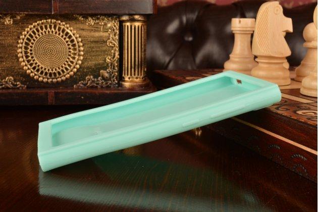 """Необычная уникальная полимерная мягкая задняя панель-чехол-накладка для xiaomi mi3 """"тематика андроид в мятном шоколаде"""""""