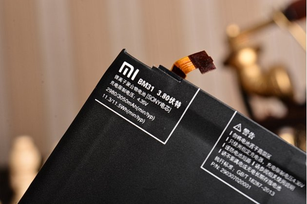 Аккумуляторная батарея bm31 3050 mah на телефон xiaomi mi3  + гарантия