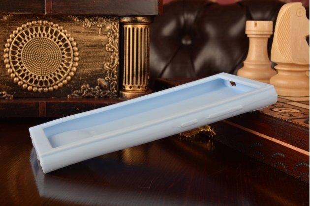 """Необычная уникальная полимерная мягкая задняя панель-чехол-накладка для xiaomi mi3 """"тематика андроид в черничном шоколаде"""""""