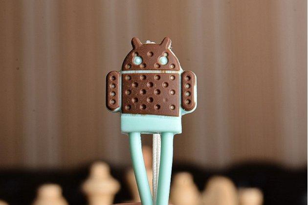 """Необычная уникальная полимерная мягкая задняя панель-чехол-накладка для xiaomi mi2s """"тематика андроид в мятном шоколаде"""""""